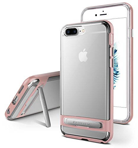 Mejor funda transparente para iPhone 7 y iPhone 8 PLUS, Goospery