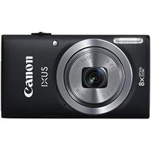 Canon IXUS 132 Digitalkamera (16 Megapixel, 8-fach opt. Zoom, 6,9 cm (2,7 Zoll) Display, bildstabilisiert) schwarz