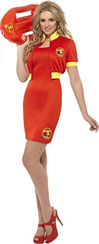 Women's Baywatch Dress and Jacket Costume - Sizes 8 to 14