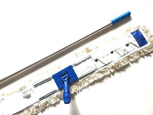 MAM Professional 100 cm Wischmop Set Mophalter Teleskopstiel Staubmop
