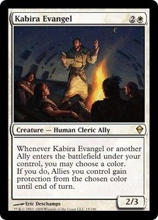Magic The Gathering - Kabira Evangel - Zendikar