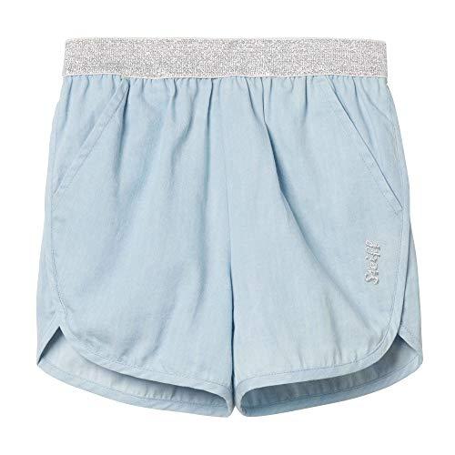 Steiff Baby-Mädchen Jeans Shorts, Blau (Forever Blue 6027), 86