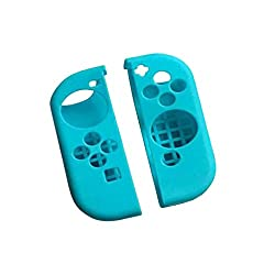 MagiDeal 1 Pair Anti-Scratch Silicone Protective Case Cover for Nintendo Switch Pro Gamepad Console Blue