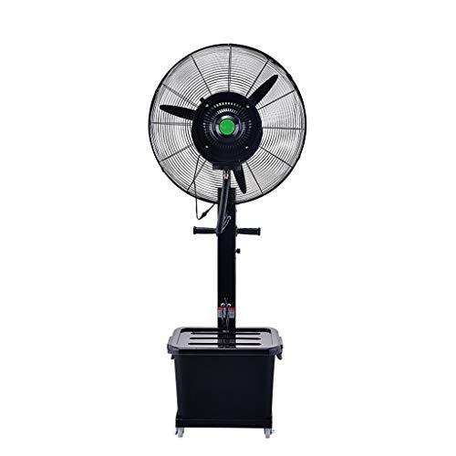 Ventilatoren Bodenventilator oszillierend Wasserzerstäubung hinzufügen High Power Factory Cooling Verwenden Leistung 260 (350) W Einstellung 3 Gänge für 10 Stunden Dauerbetrieb Schwarz (größe : #2)