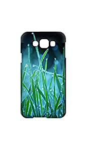 Leaves Texture Printed Back Cover/Case For Samsung Galaxy E7