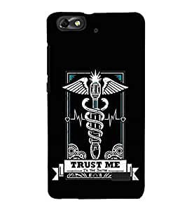 Doctor Sign 3D Hard Polycarbonate Designer Back Case Cover for Huawei Honor 4C :: Huawei G Play Mini