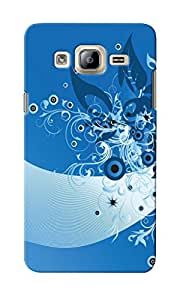 KnapCase Abstract Designer 3D Printed Case Cover For Samsung Galaxy On7