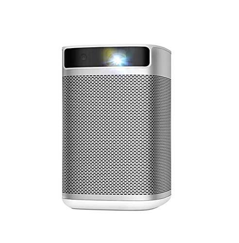 XGIMI MoGo, Mini Beamer, 210 ANSI-Lumen,Android TV 9.0, Google Assistant, YouTube, 4000+ Apps, 540p, Lautsprechern von Harman/Kardon, 100-Zoll-Bild, mit Wi-Fi und Bluetooth