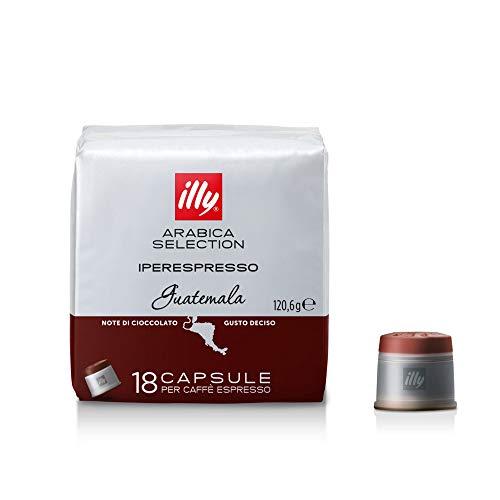 Illy 18 Capsule di Caffè Iperespresso Arabica Selection Guatemala