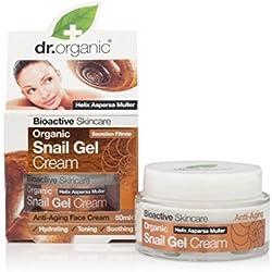 Dr. Organic Snail Gel Crema Viso Anti Età 50 ml