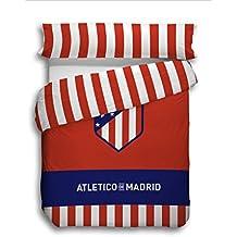 Atlético de Madrid. Juego Funda Nórdica de 3 piezas Oficial del Club. ATM 2018