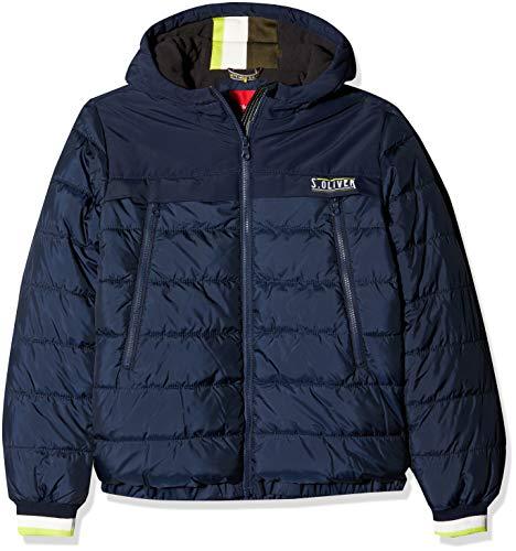 s.Oliver RED Label Jungen Puffer Jacket mit großen Zip-Taschen Dark Blue M