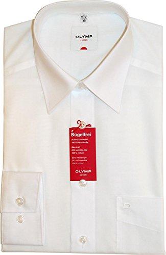 Olymp Hemd Luxor Comfort Fit - weiß, Kragenweite:42