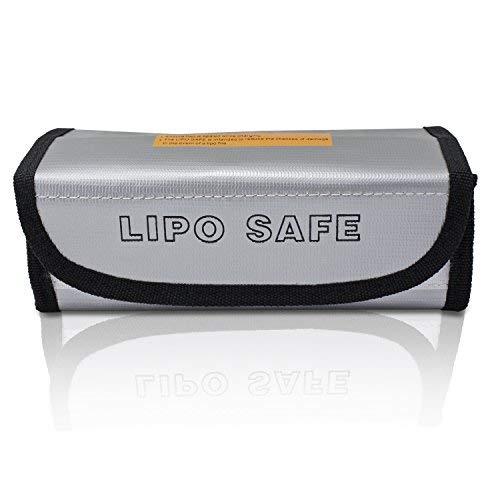 PsmGoods® LiPo Guard Bag Feuerbeständige Sicherheit Schutztasche Ladegerät Sack ( 19*8.5*6.5cm)