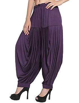 CRAFTSTRIBE Punjabi Patiala Salwar viscosa lycra Pantalone Baggy pantaloni Formato libero Nuovo Dhoti