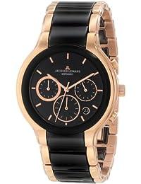 Jacques Lemans Herren-Armbanduhr XL Chronograph Quarz Edelstahl 1-1580C