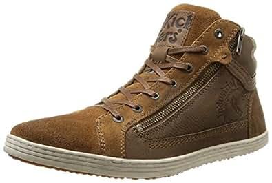 Kickers Amasol, Sneakers Hautes homme, Marron (Camel), 40 EU
