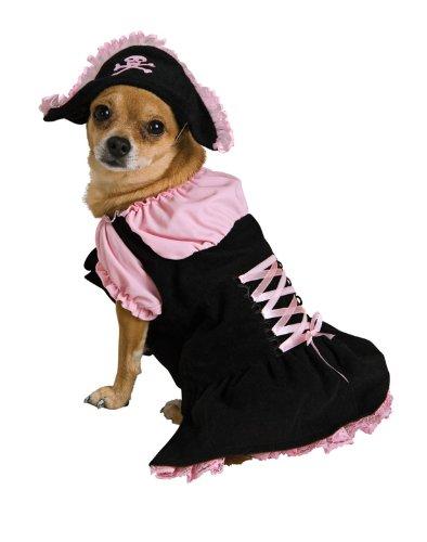 Rubie 's Rosa Piraten Pet Kostüm, extra - Rosa Piraten Pet Kostüm