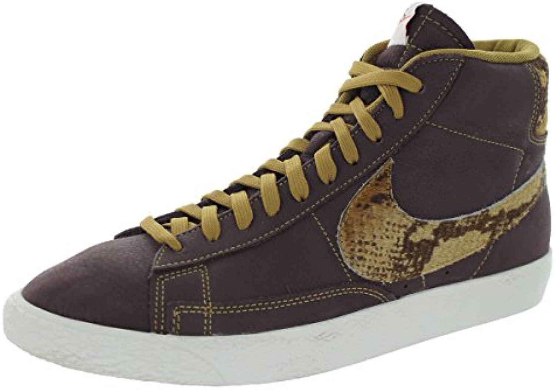 Nike Blazer Mid Prm QS Hombre Morado Deportivas Zapatos 43 EU