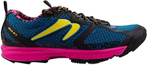Newton Running Women's Boco At III Trail Running Shoe, Scarpe Donna, Blu (Blue/Pink), 37 EU