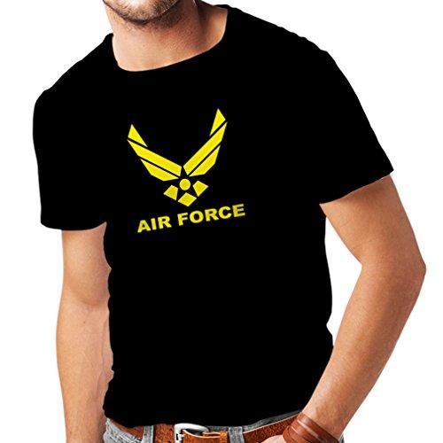 lepni.me Camisetas Hombre United States Air Force (USAF) - U. S. Army 4bd1490306310