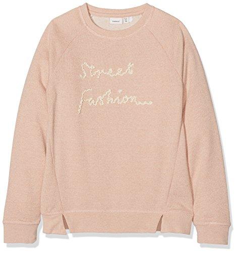 NAME IT Mädchen NKFIHUNKY UNB SWE Sweatshirt, Rosa (Peachy Keen), 158 (Herstellergröße: 158-164) -