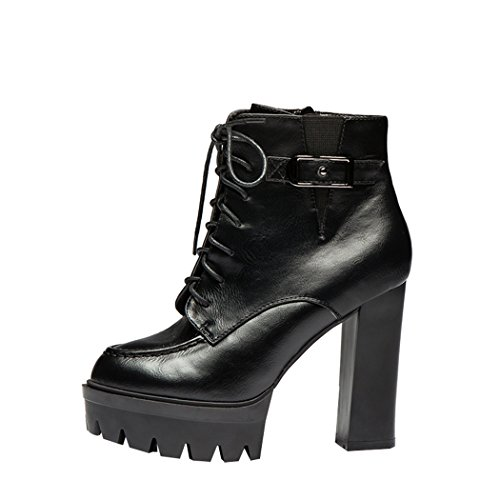 imayson-fashion-down-pu-leather-high-heel-platform-toe-design-buckle-side-zipper-short-boots-uk-5-co