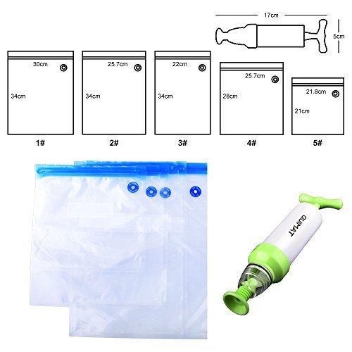 Quimat Sous Vide Präzisionskocher Tauchzirkulator Genaue Temperatur Digital Timer und Edelstahl mit einem Set aus BPA-freien Vakuum Zip-Beuteln & Rezepten (Weiß) - 8