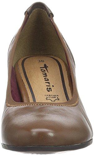 Tamaris 22400, Scarpe con Tacco Donna Marrone (MUSCAT 311)