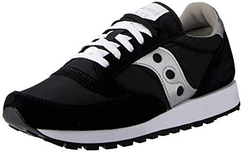 Saucony jazz original, scarpe da ginnastica uomo, nero (black/silver), 42.5