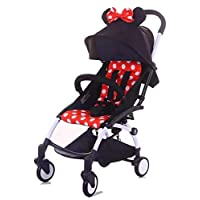Mini portable stroller baby throne Minnie mouse color