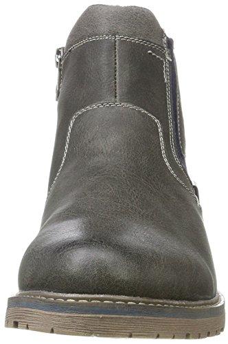 Tom Tailor 3780304, Bottes Classiques homme Grau (Coal)