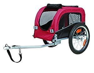 Trixie 12813 Fahrrad-Anhänger, S: 38 × 37 × 58 cm