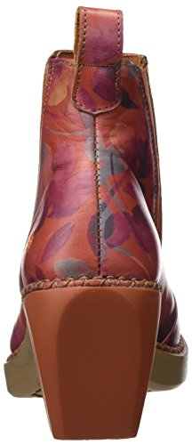 Art Damen Madrid Kurzschaft Stiefel Orange (Fantasy Petalo)
