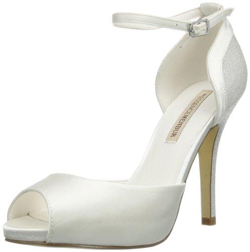 Menbur Wedding Gisela 5812, Sandali Donna Avorio (Elfenbein (Ivory 04))