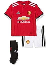 adidas MUFC H Mini Conjunto Equipación-Línea Manchester United FC 578b4043156