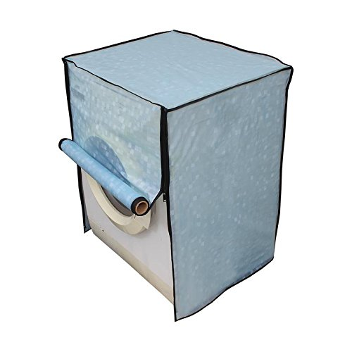 Dream Care Sky Blue Washing Machine Cover for Fully Automatic Front Loading IFB Senorita Aqua SX 6.5 kg  available at amazon for Rs.399