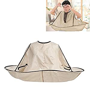 Ewin(R) 1 Pcs New Style Hair Cutting Cloak Umbrella Cape Salon Barber Hairdressing Gown Family For Adult (Adult Size)