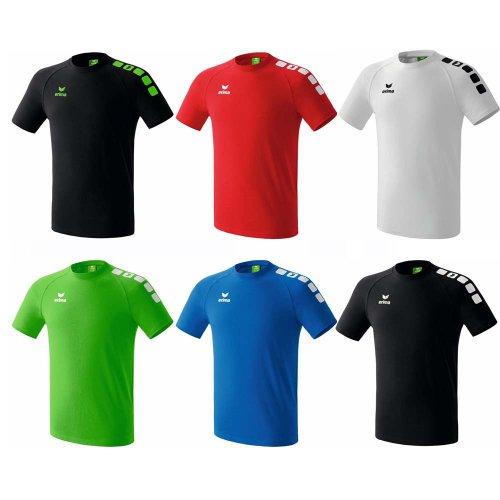 Erima Derby Kinder & Herren T-Shirt versch. Farben Schwarz-Grün