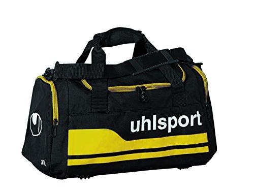 uhlsport Basic Line Sporttasche Schwarz/Maisgelb
