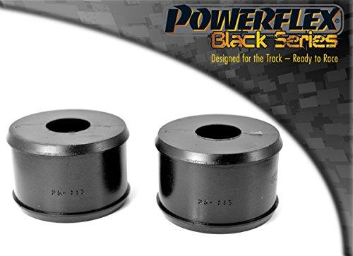 Pfr25-113blk PowerFlex trailing support de bras de suspension arrière buissons Noir Série (2 en boîte)