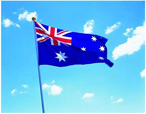 Bandera de Varias Paises 150×90cm para La Decoración del Lugar Parezca Más Juvenil de UK, US, CA, FR, DE, AU, ES, IT, MX,EU