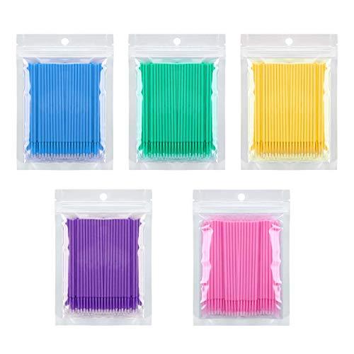 500 pinceles microaplicadores desechables dentales