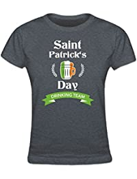 Saint Patrick's Day Drinking Team Women's T-shirt by Shirtcity