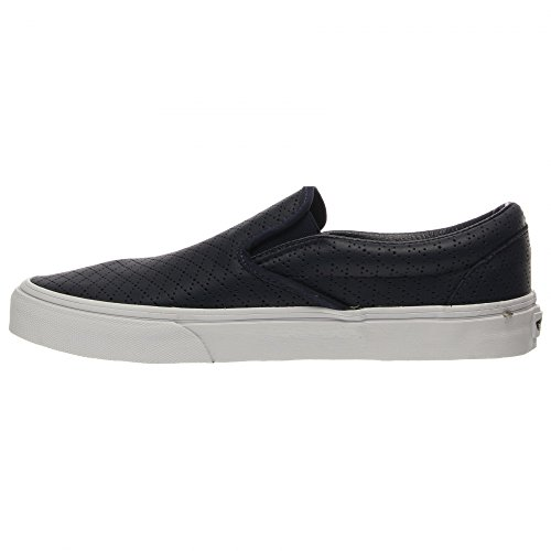 Vans U CLassic SLip-On Stivaletti, Unisex Adulti Blu ((diamond perf) dress blue)