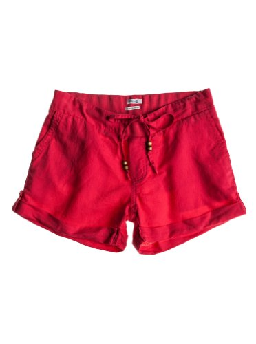 Sunkissed Roxy-Pantaloncini da donna rosso rosso XS