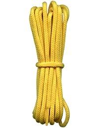 Cordones Fuertes - 4 mm redondos - ideales para botas de trabajo y botas de montaña Dr Martens - 16 colores - Longitudes de 90 a 240 cm - Hecho en Inglaterra