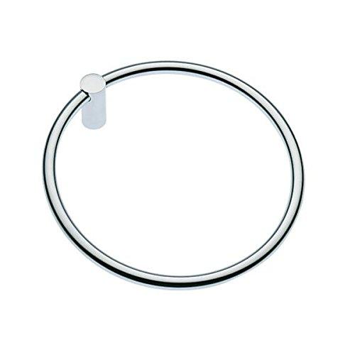 Cosmic – Porte-serviettes anneau Chrome minimalism