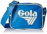 Gola Micro Redford - Borse Messenger Unisex Adulto, Blu (Blue/White)