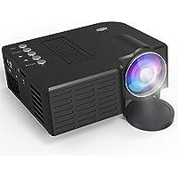 Mini proiettore, supporto 1080p Full HD, artlii LED portatile Proiettore con usb-sd-av-hdmi per tempo libero
